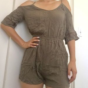 Cotton on green romper